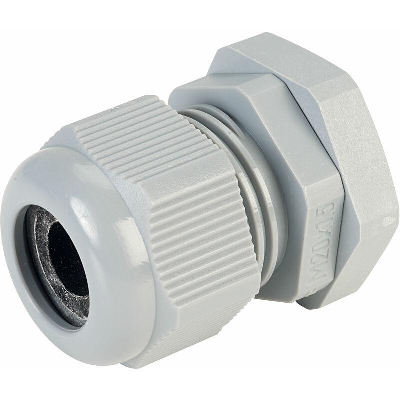 Image of 50.620 PA/R Compact M20 Cable Gland Grey - Jacob