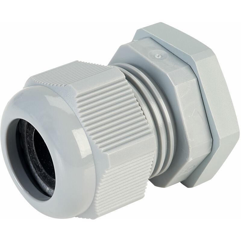 Image of 50.625 PA7001 Compact M25 Cable Gland Grey - Jacob