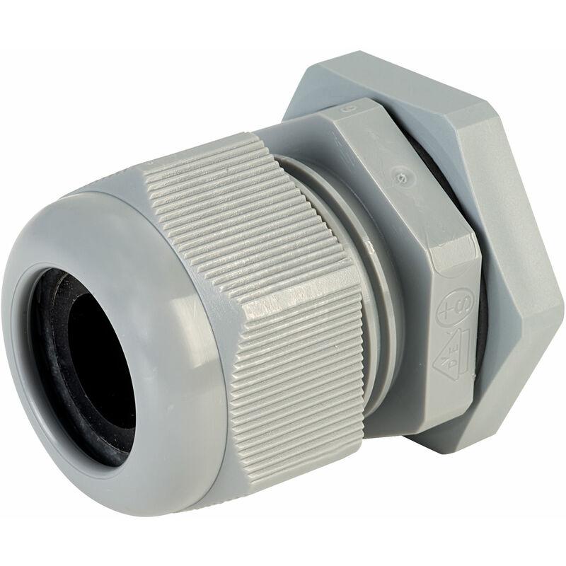 Image of 50.632 PA/R Compact M32 Cable Gland Grey - Jacob