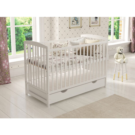 Jacob Cot with Drawer and Free Aloe Vera Mattress Variations