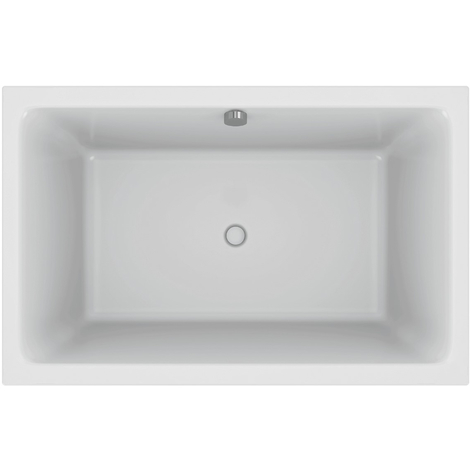 Jacob Delafon - Baignoire bain douche compacte Capsule installation en angle avec pare bain et tablier