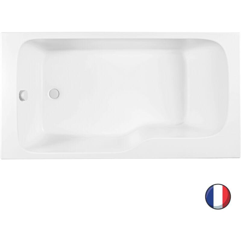jacob delafon baignoire douche Jacob Delafon - Baignoire bain douche Malice, 160 X 85 - version gauche -  CE6D066L