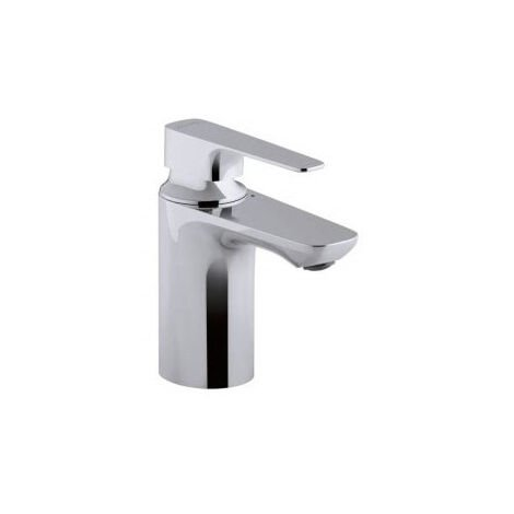 Jacob Delafon - Mitigeur lavabo Aleo+ chrome, sans systeme de vidage