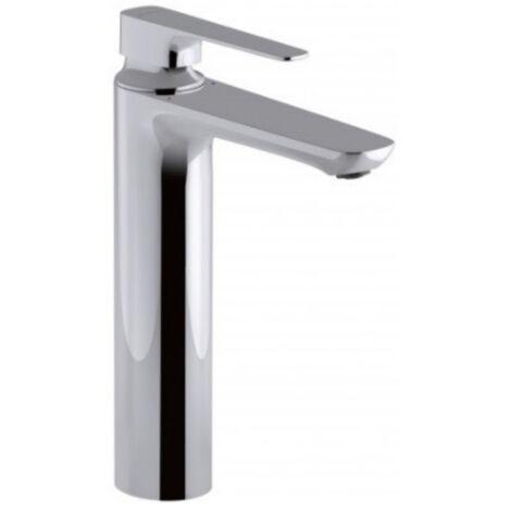 Jacob Delafon - Mitigeur lavabo - modèle haut Aleo+ - Chrome, avec systeme de vidage