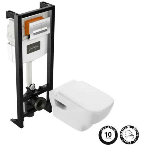 JACOB DELAFON - Pack wc suspendu sans bride Struktura