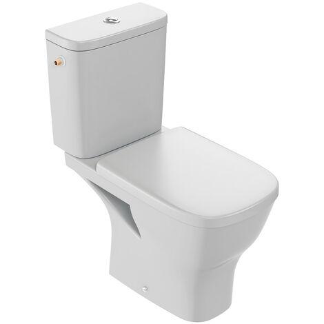 Jacob Delafon WC à poser sans bride Struktura + abattant