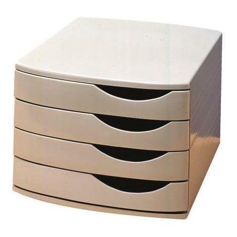 """main image of """"Jalema 4 Drawer Desktop Set A6862-541 - AL38701"""""""