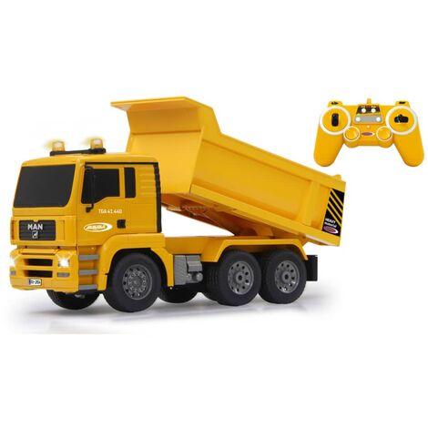 Jamara Camión de basura teledirigido MAN 2,4GHz 1:20 - Amarillo