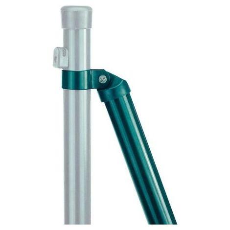 Jambe de force 38 enduit vert 34x2000 mm (Par 6)