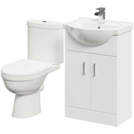 James 550mm Vanity Unit & Toilet Suite