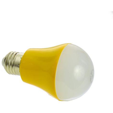 jandei Bombilla con sensor 5W E27 luz blanca 4200ºK