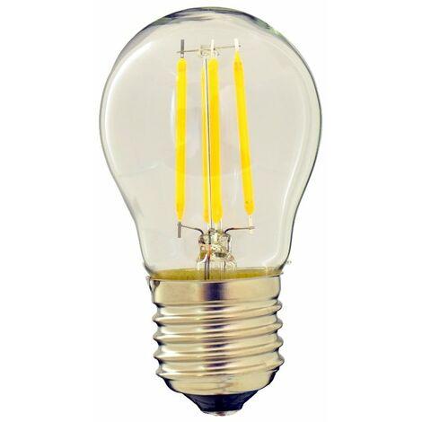 jandei Bombilla filamento LED 4 W G45 rosca E27 blanco calido 2700 K