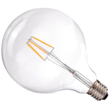 jandei Bombilla led G125 Filamento 6W E27 blanca 2700K