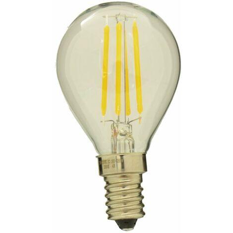 jandei Bombilla led G45 filamento 4W rosca E14 Blanco 2700ºK