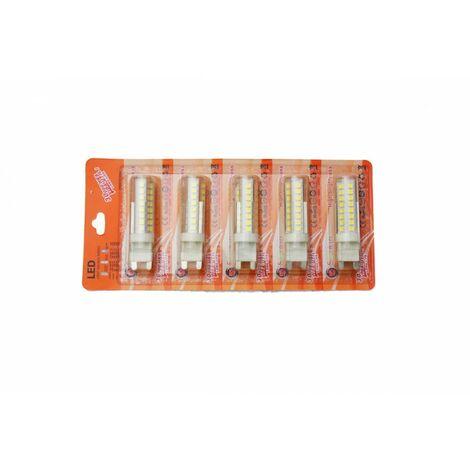 jandei Bombilla LED G9 6W blanco natural 4200K Blister 5 uds