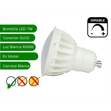 jandei Bombilla led regulable GU10 7W blanco frio 6000K