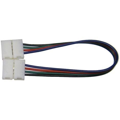 jandei Cable RGB 10mm unión 2 conectores cable 15cm