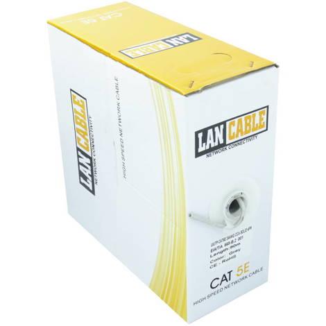 """main image of """"Jandei Cable UTP CAT5E Caja 90 metros PVC para CCTV categoría 5E 4 pares con colores estándar EIA/TIA 568 B.2, EN 50173-1 metrado"""""""