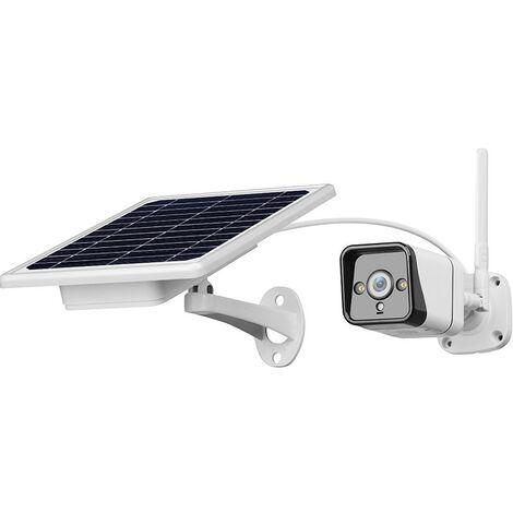 jandei Camara IP Solar 3G 4G Exterior Placa Solar bateria Tarjeta SD