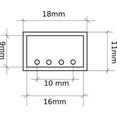 jandei conector tira RGB SMD5050 220V