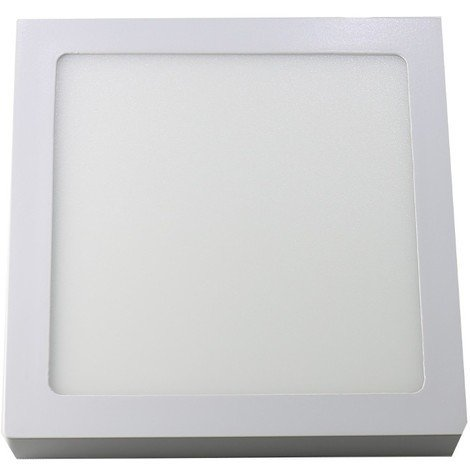 jandei Downlight led 18W 6000ºK cuadrado superficie blanco