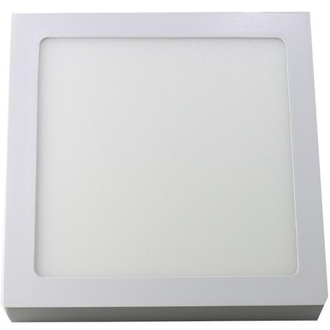 jandei Downlight led 18W 6000ºK cuadrado superficie blanco