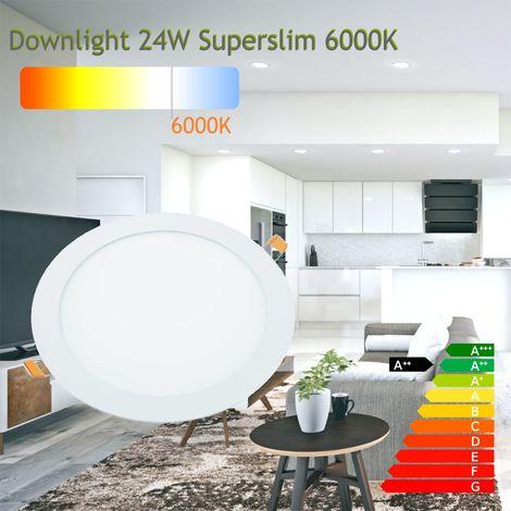 jandei Downlight led 24W 6000ºK redondo empotrar blanco