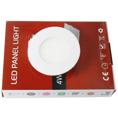 jandei Downlight led 3W 3000ºK redondo empotrar blanco