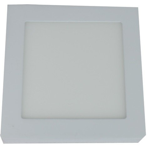 jandei Downlight led 6W 6000ºK cuadrado superficie blanco