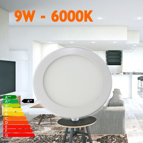 jandei Downlight led empotrar 9W redondo blanco 6000ºK
