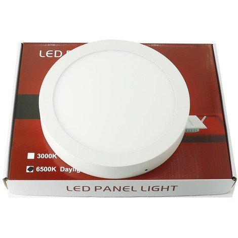 jandei Downlight led superfice 12W redondo blanco 6000ºK