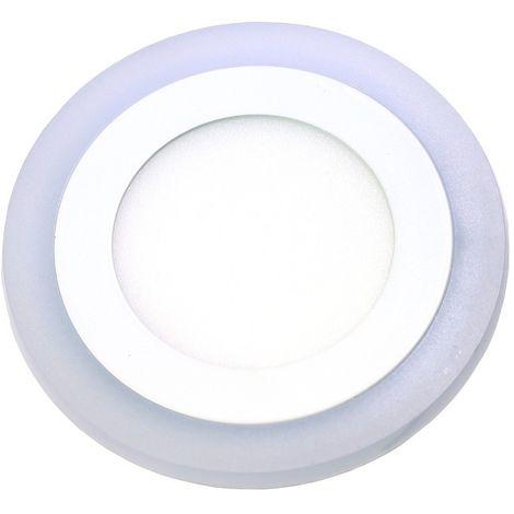 jandei Downlight redondo empotrar dos colores blanco 6000ºK y azul. 6W + 3W