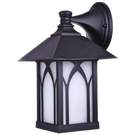 jandei Farol De Pared XANELA Exterior Aluminio E27 Color Negro