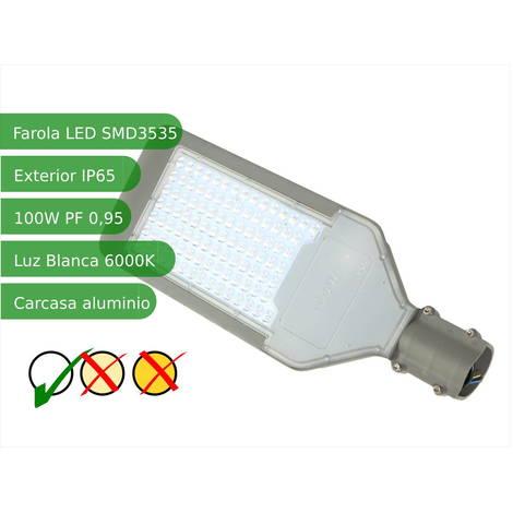 jandei Farola LED 100W 6000K IP65 exterior alumbrado público SMD3535