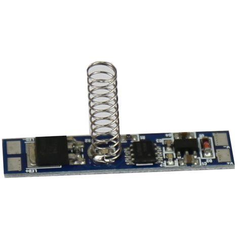 jandei Interruptor para tira led 12/24V DC 96W (Regulador táctil)