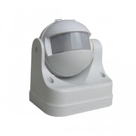 jandei Interruptor por detección de movimiento infrarrojos exterior, sensibilidad, tiempo y luminosidad regulable 300W led, 1200W incandescente