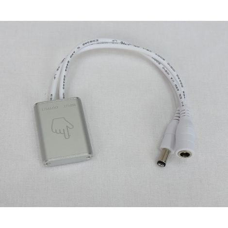 jandei Interruptor regulador táctil superficie dimmer 12/24V DC 48W