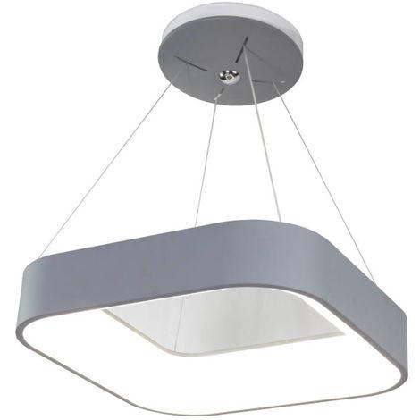 jandei Lámpara led decorativa techo cuadrada 25W 4200K