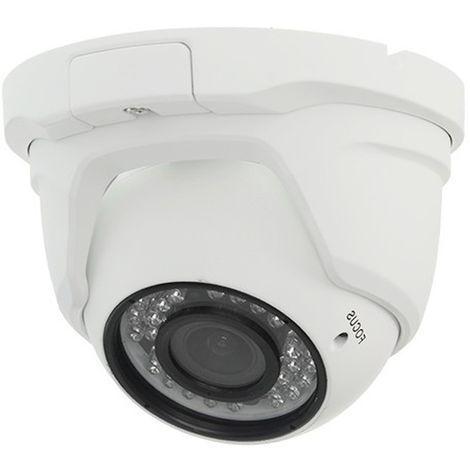 jandei Minidomo 4 en 1 720P Exterior varifocal 2,8-12mm Infrarrojos 30 Metros Aluminio Blanco