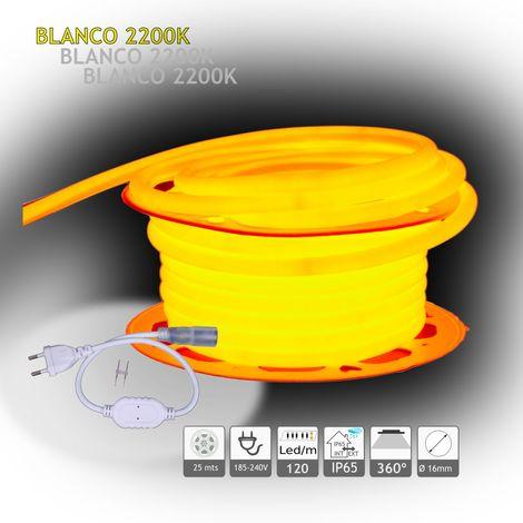jandei Neón LED circular 360 flexible 2200K 220V 120 led metro 25m