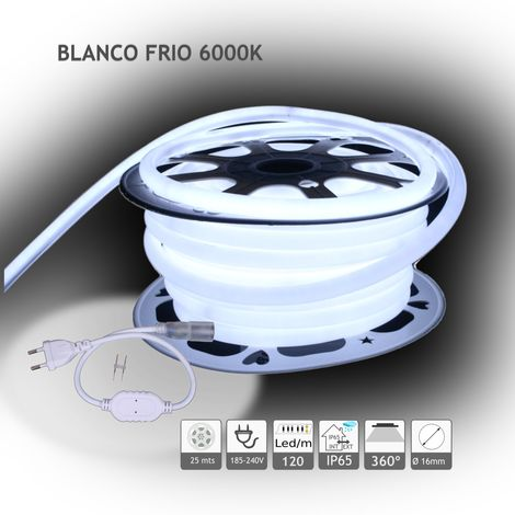 jandei Neón LED circular 360 flexible 6000K 220V 120 led metro 25m
