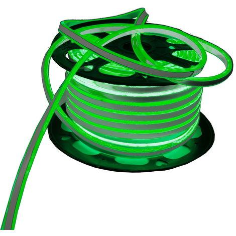 jandei Neon LED flexible doble cara 120LED/m 7W/m VERDE exterior 50m