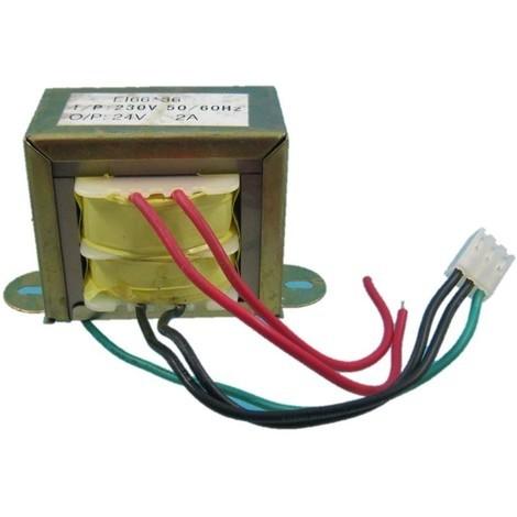jandei Transformador 220Vac a 24Vac 2 Amperios