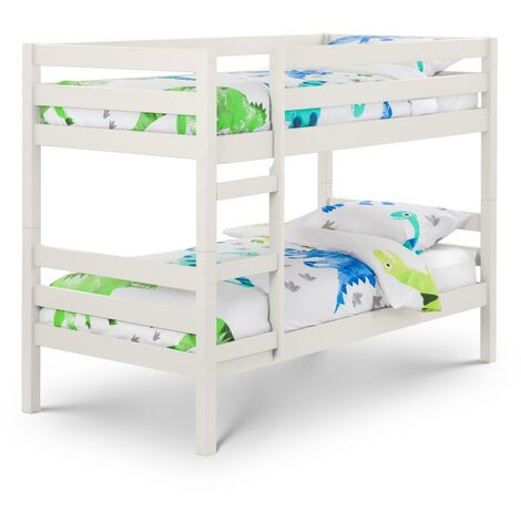 Janie 3ft Single 90 x 190 SURF WHITE Bunk Bed Frame