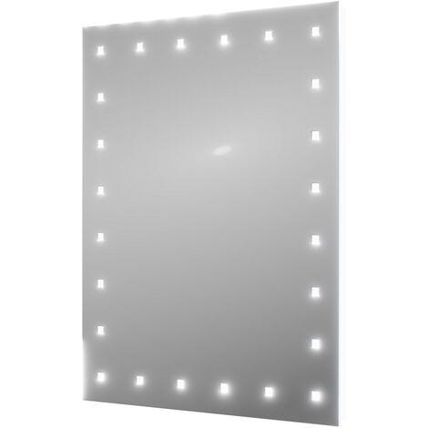 "main image of ""Janus 500mm x 650mm Battery Operated Illuminated 24 LED Mirror"""