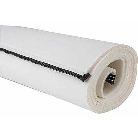 Jaquette blanche pour ballon ECS TWS 120 non-perforee