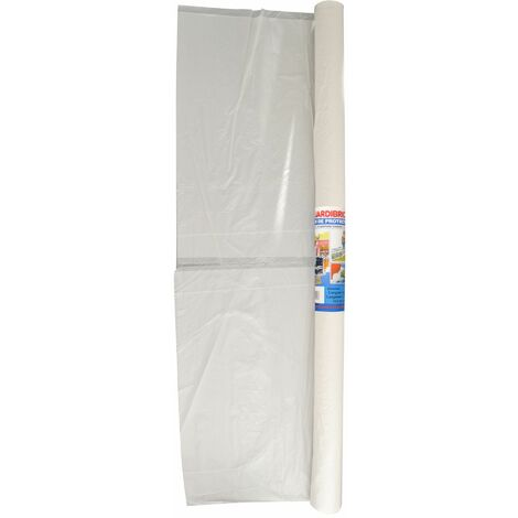 Jardibric - Bâche de protection 6 x 27 m - Surface 162m² Film de protection en Polyéthylène- bache de protection peinture