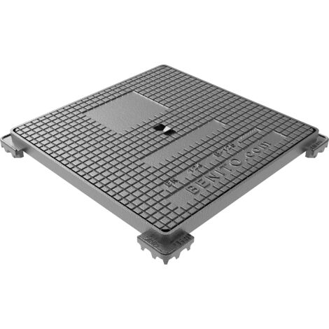 Jardibric - Regard hydraulique carré 300 x 300 mm en fonte Classé B 125