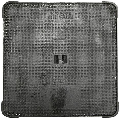 Jardibric - Regard hydraulique carré 500 x 500 mm en fonte Classé B 125