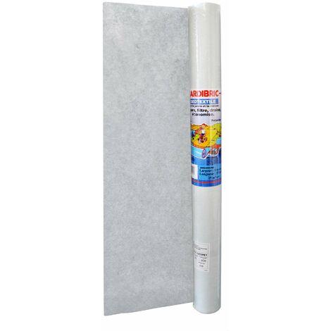 Jardibric - Rouleau géotextile 1 X 25m - en Maille Polyester